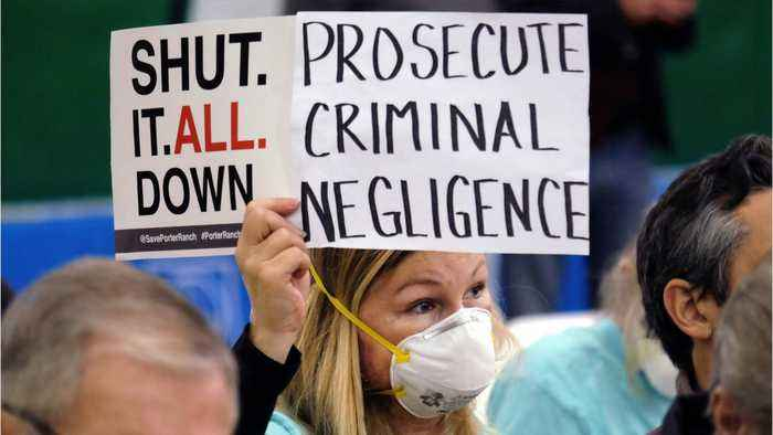California Utility Responsible For Gas Leak Failed To Investigate Problems For Decades