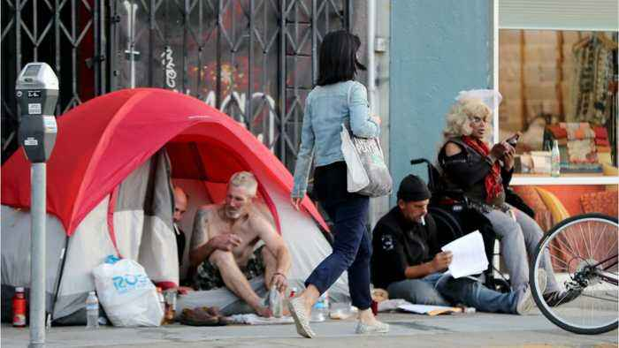 San Francisco's Homeless Population Increased 17% In Two Years