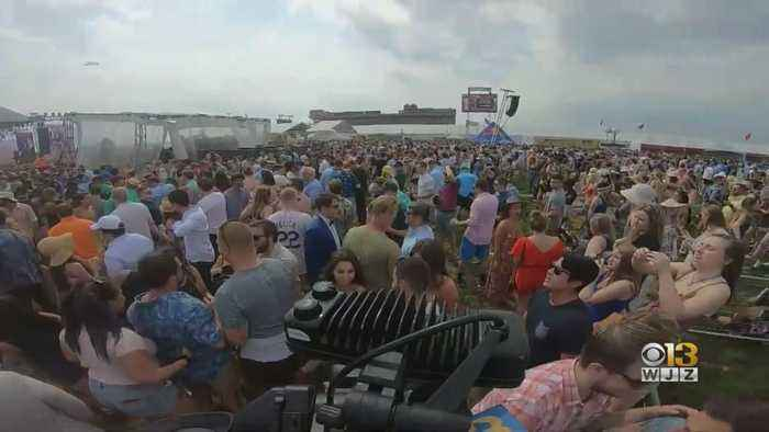 Thousands Celebrate 144th Running Of The Preakness