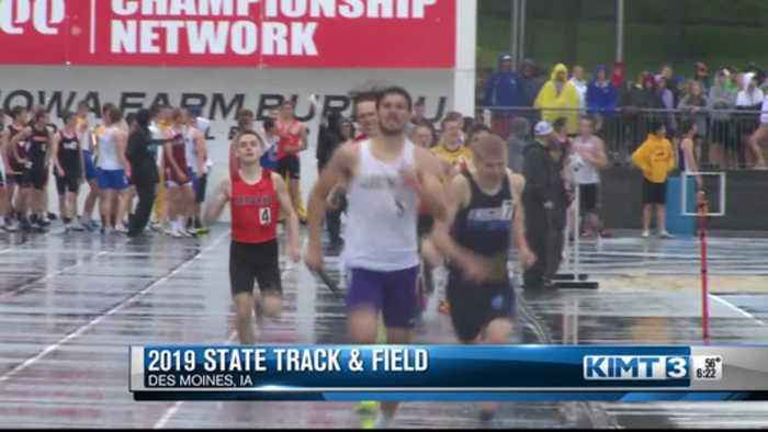 Friday's Iowa State Track Meet early highlights