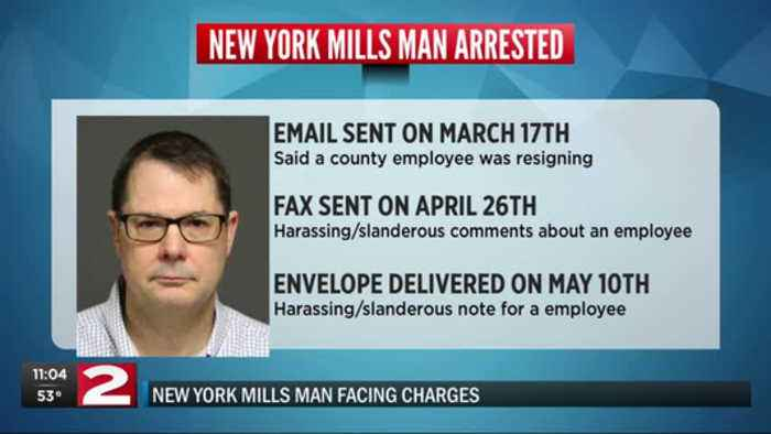 New York Mills man facing charges