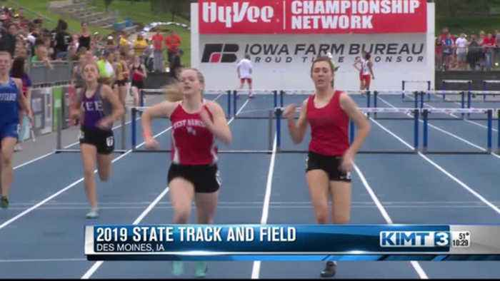 Friday's Iowa State Track Meet late highlights