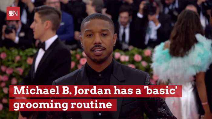 Michael B. Jordan Stays Good Looking With This Routine