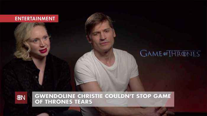 Gwendoline Christie Cried At The End Of 'Game of Thrones'