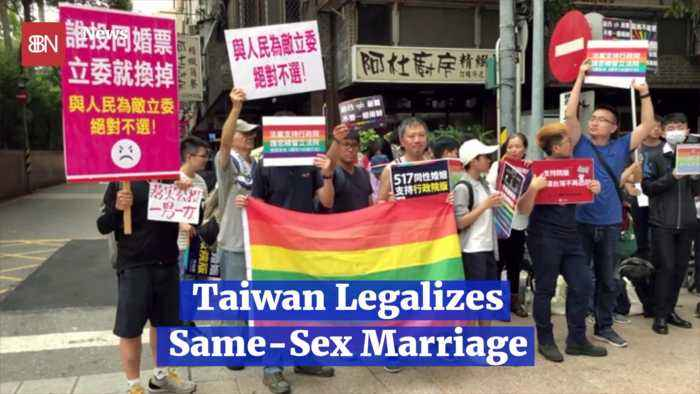 Taiwan Passes Same Sex Marriage Into Law
