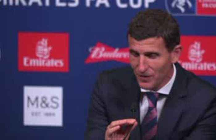 Garcia proud of squad despite losing FA Cup to Man City