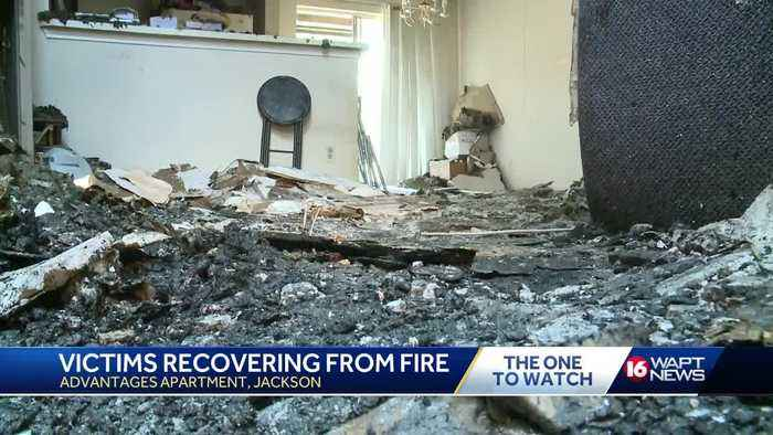 Residents picking up the pieces after devastating apartment fire