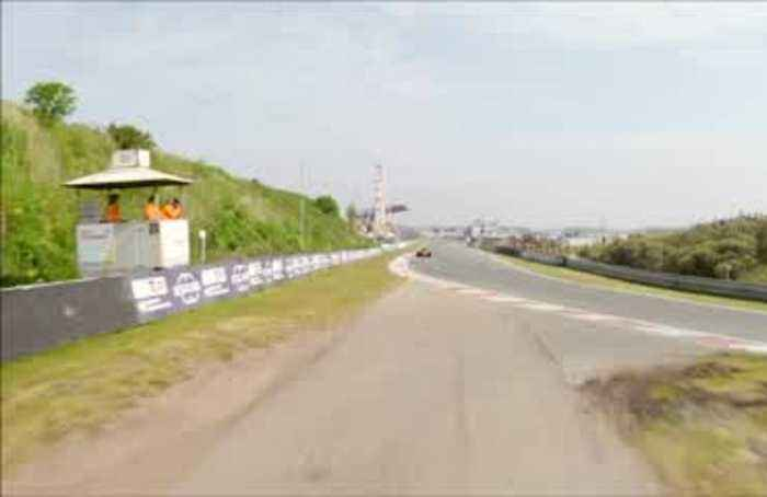 Dutch Zandvoort race circuit tested by homeboy Verstappen ahead of F1 return
