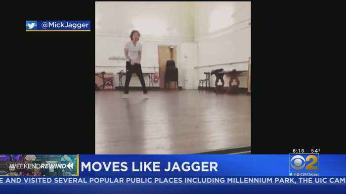 Mick Jagger Shows Off Dance Moves After Heart Surgery