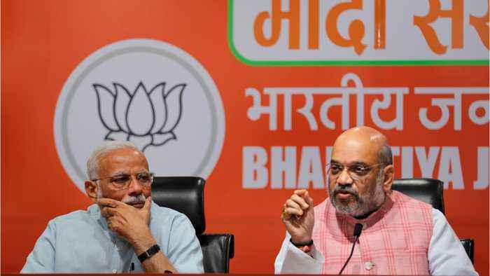 Modi's Party Appears Victorious