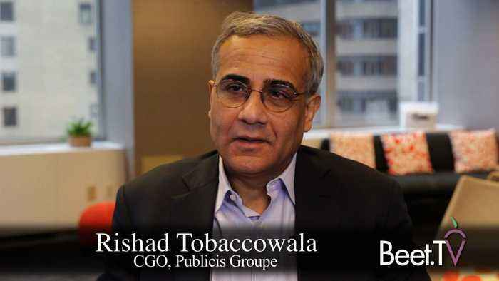 Publicis' Tobaccowala: AdTech Must Yield Control, Compensate For Consumer Identities