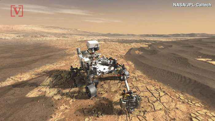 Take A Look At The Completed Spacecraft That Will Take The Mars 2020 Rover To The Red Planet