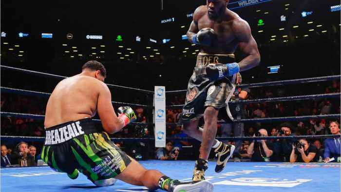 Deontay Wilder Has All-Time TKO Of Dominic Breazeale