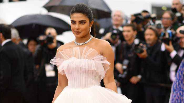 Priyanka Chopra Wore A Ball Gown Fit For A Princess To Cannes