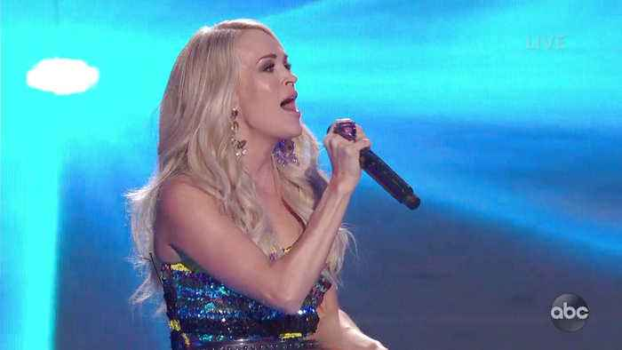 Carrie Underwood Performs Her New Single 'Southbound' Live on American Idol