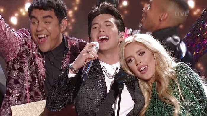 Laine Hardy Performs 'Flame' Live on American Idol