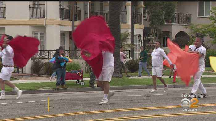 Long Beach Holds 36th Annual Pride Parade, Festival