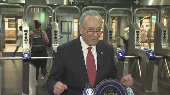 Schumer Questions Chinese-Made Subway Systems, Raises Issue Of National Cyber-Security Risk