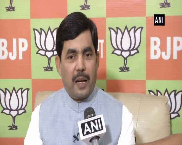 Shahnawaz Hussain hails exit poll results