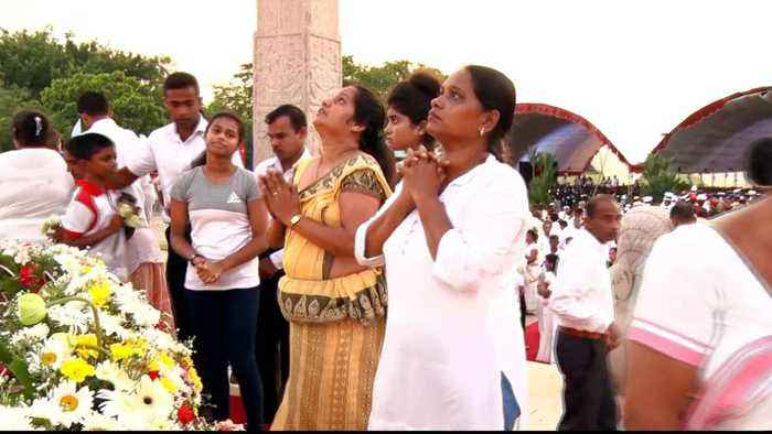 Sri Lanka anniversary: Paying tribute to soldiers of war