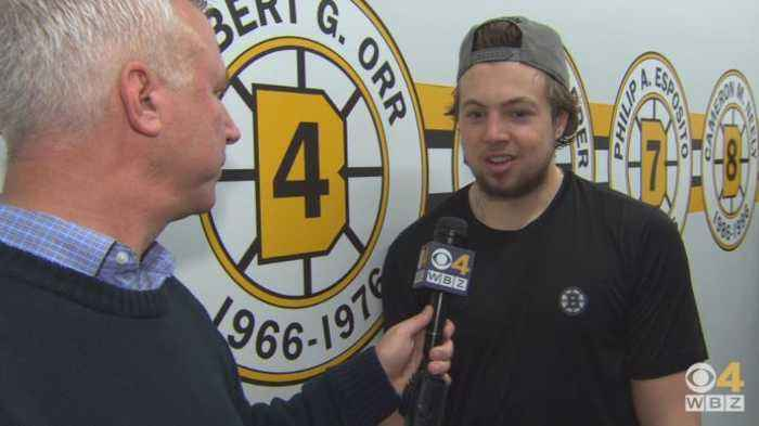 Sports Final: Dan Roche Goes 1-on-1 With Bruins Defenseman Charlie McAvoy