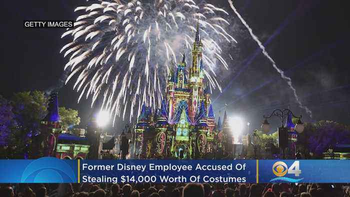Former Disney Employee Accused Of Stealing Magic Kingdom, Epcot Costumes