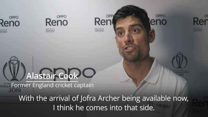 Alastair Cook on Jofra Archer: He's in my squad