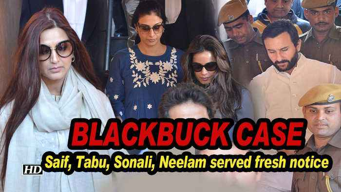 Saif, Tabu, Sonali, Neelam served fresh notice in Blackbuck case