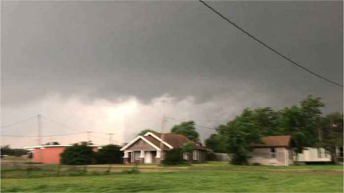 Severe Weather Rips Through The Great Plains and Midwest