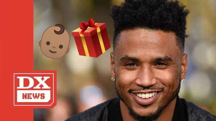 Trey Songz Reveals Newborn Baby ... & His Female Fans Completely Lose It