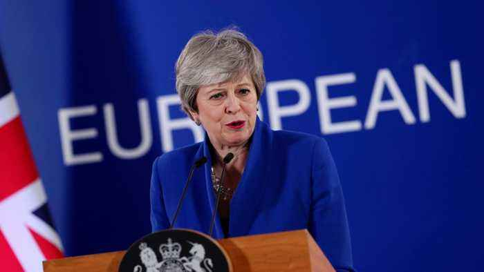 May Offers Parliament Second Referendum Vote
