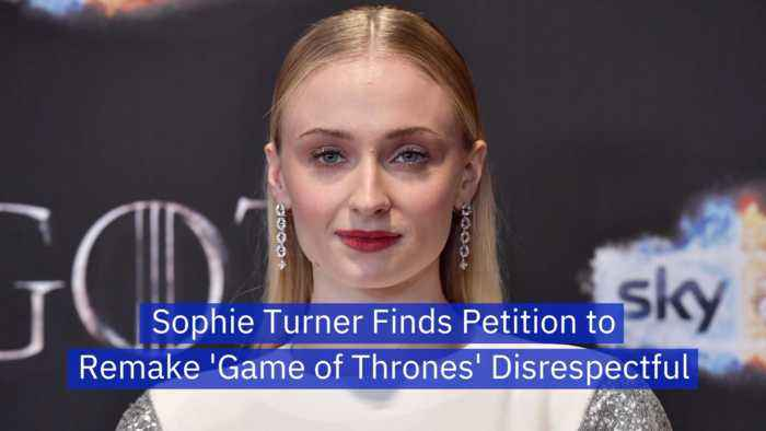Sophie Turner Is Insulted By 'Game of Thrones' Critics