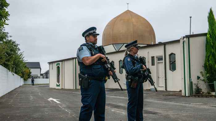 New Zealand Shooting Suspect Charged With Terrorism