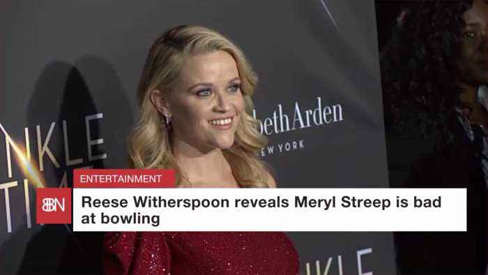 Reese Witherspoon Disses Meryl Streep's Bowling Skills