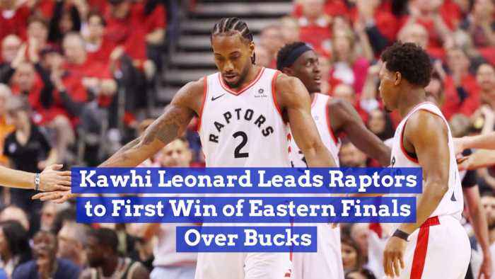Kawhi Leonard Is On Fire Right Now