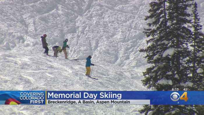 Colorado Ski Areas Happy To See Late May Snow