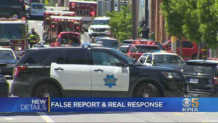 False Alarm Causes Police Search For Possible Shooter In San Francisco's Potrero Hill