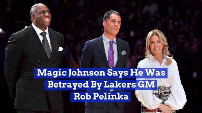 Magic Johnson Opens Up About His Lakers Exit