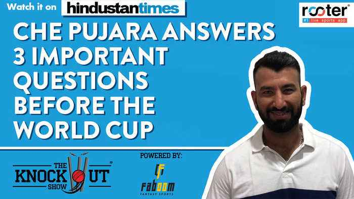 Che Pujara answers 3 important questions before the World Cup on The Knockout Show powered by Faboom Fantasy