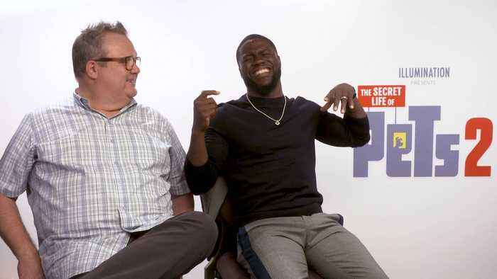 'The Secret Life Of Pets 2': Exclusive Interview With Kevin Hart & Eric Stonestreet