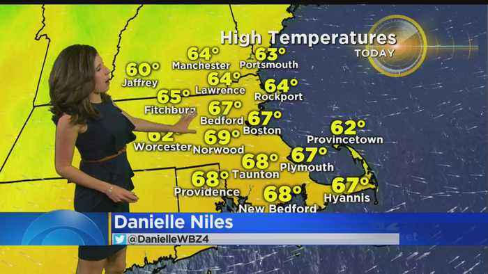 WBZ Mid Morning Forecast For May 21, 2019
