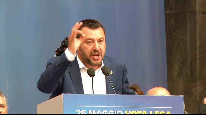 Rise of the right: Italy's Lega party woos EU voters