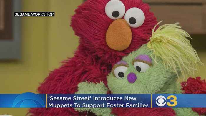 'Sesame Street' Introduces 3 New Muppets To Support Foster Families