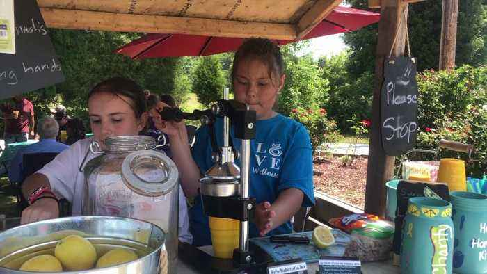 North Carolina Sisters Sell Lemonade to Pay Off Classmates' School Lunch Debt