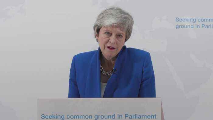 Theresa May: MPs will get vote on whether to hold second referendum