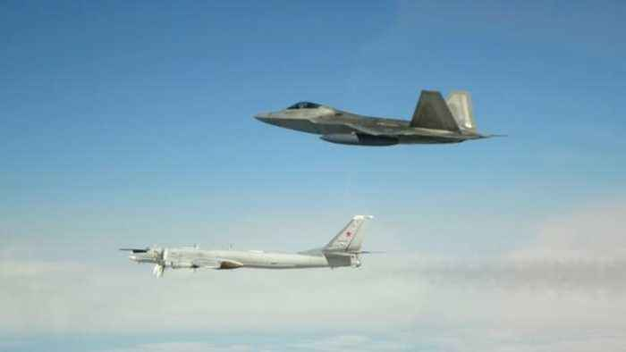 NORAD: U.S. Fighter Jets Intercepted Russian Bombers Off The Coast Of Alaska