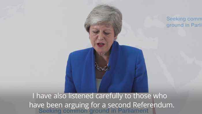 Theresa May: MPs will get vote on whether to hold second referendum Theresa May: MPs will get vote on whether to hold second ref