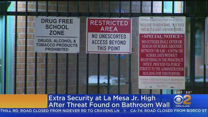 Juvenile Detained Over Threat Found At Santa Clarita Middle School
