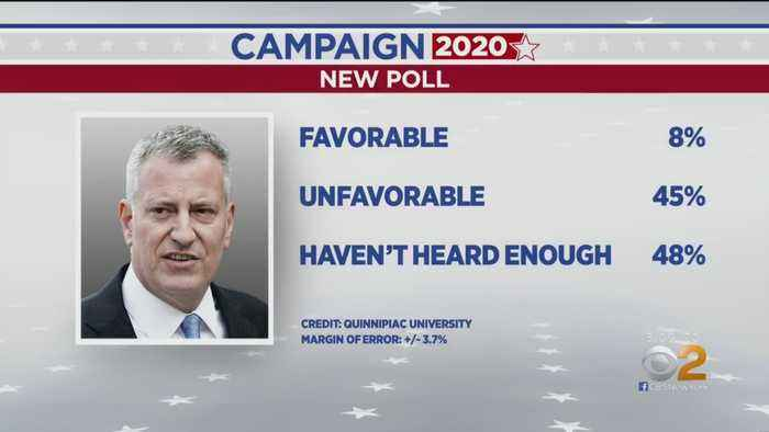 De Blasio Gets 8 Percent Favorable Rating In 2020 Poll