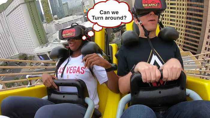 Downtime: coaster riding with Jackie Young